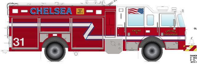 Chelsea Fire Truck 2014