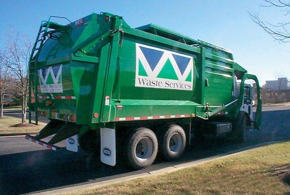 Santek Waste Services truck