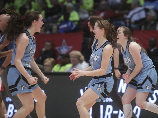 Spain Park Girls Basketball VS Lee-Montgomery State Semifinals