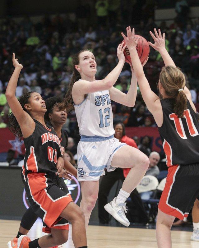 Spain Park Girls Basketball VS McGill Toolen State Championship