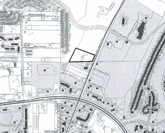 Brook Highland Community Church property map