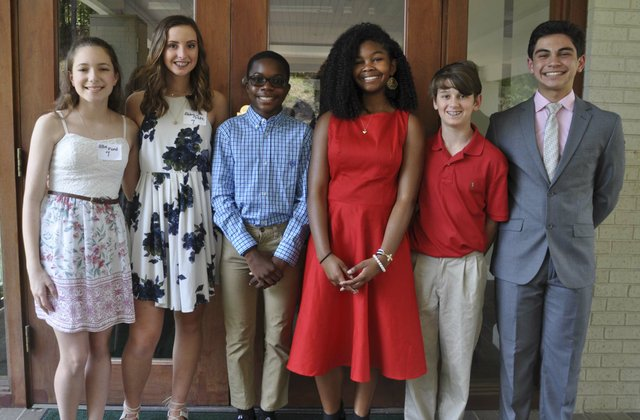 Hoover Service Club scholarships awards 2018