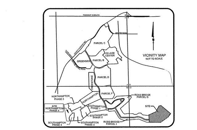 Ross Bridge Parcel I Phase 3 map