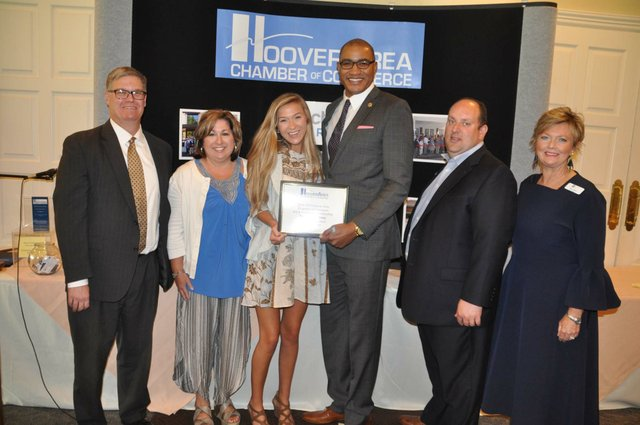 Hoover chamber scholarships May 2018 5