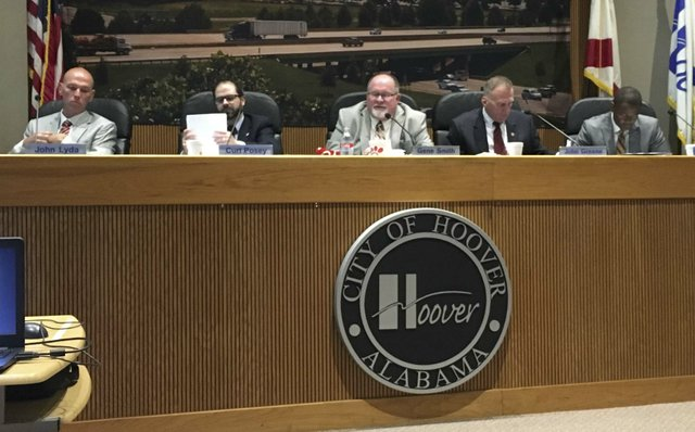 Hoover City Council 5-21-18