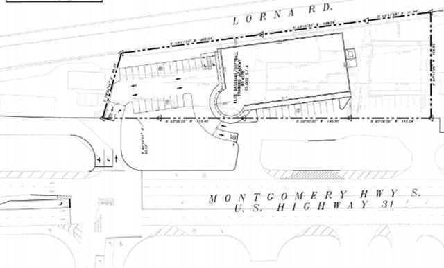 Orange Development site plan