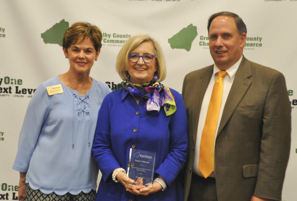 Greater Shelby chamber honors 2018 Healthcare Professionals