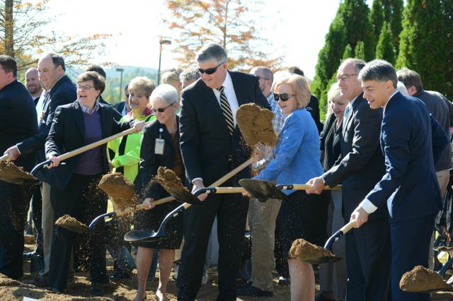 St. Vincent's expansion project breaks ground