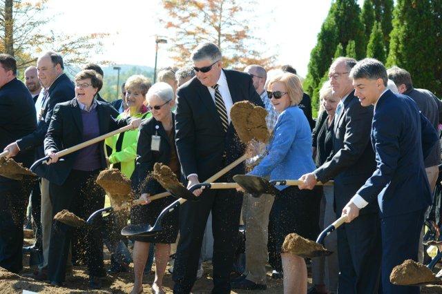St. Vincent's expansion project breaks ground