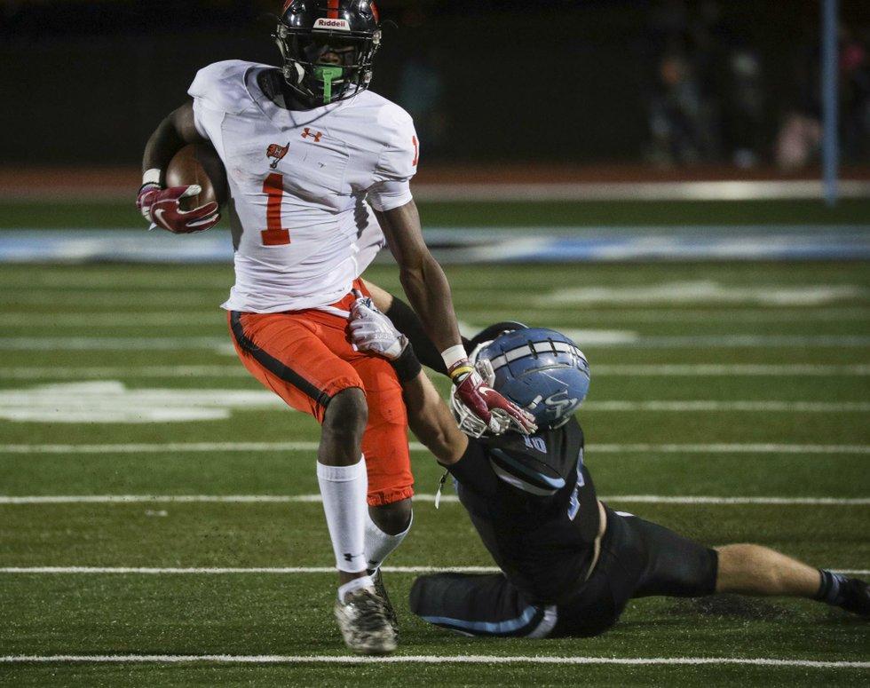 SPHS vs Hoover football 2018