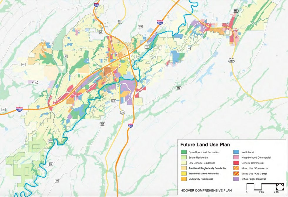 Hoover future land use 10-4-18