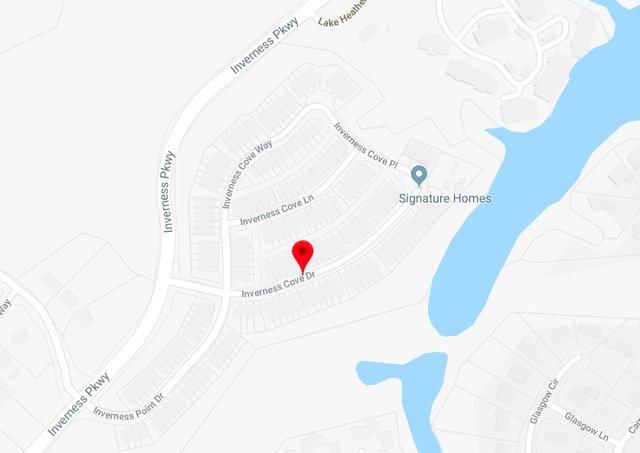 Inverness Cove map