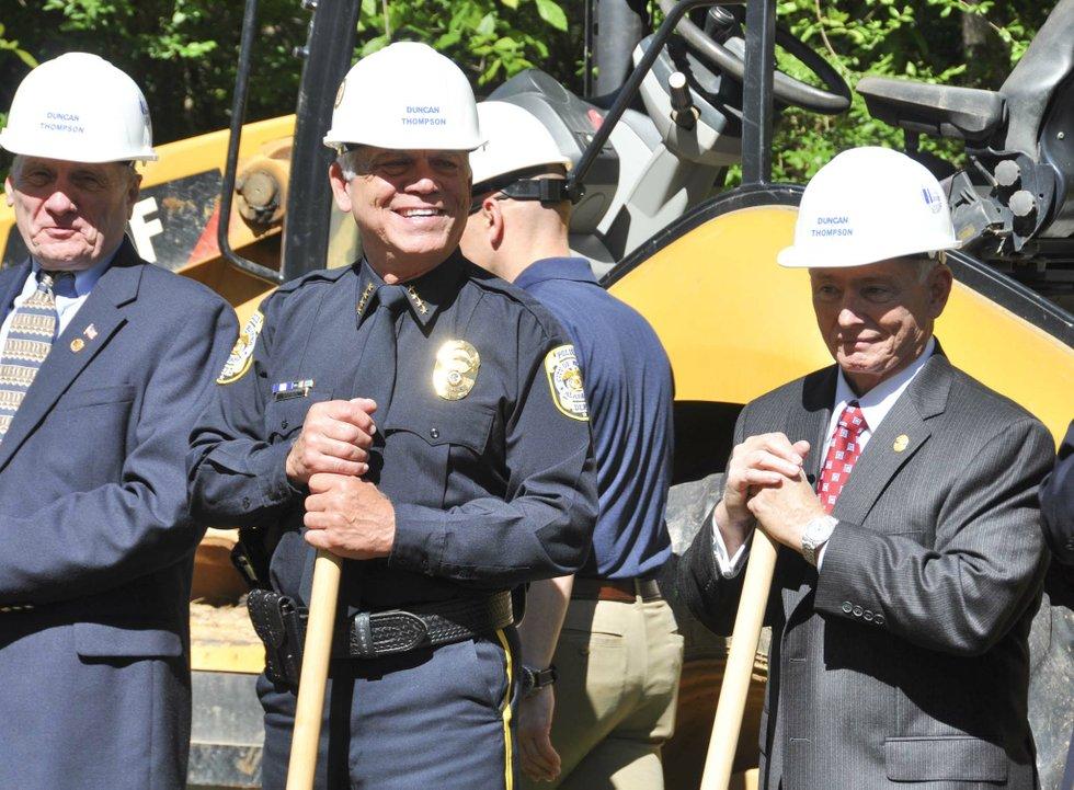 police training center groundbreaking 4