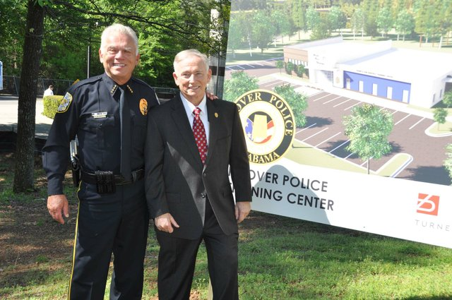 police training center groundbreaking 15