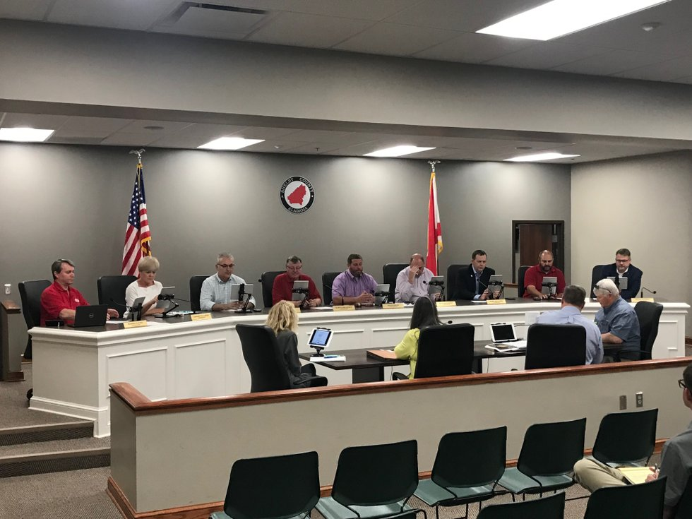 Shelby County Commission April 22