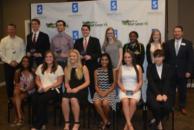 College Ready Student Nominees at Shelby County's Student & Educator of the Year Luncheon on April 24, 2019.
