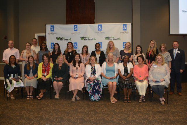 Elementary Educator Nominees at Shelby County's Student & Educator of the Year Luncheon on April 24, 2019.
