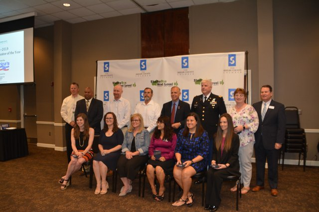 High School Educator Nominees at Shelby County's Student & Educator of the Year Luncheon on April 24, 2019.