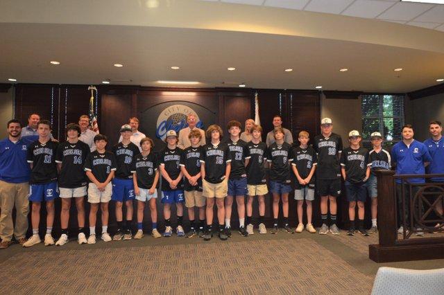 Chelsea Middle School baseball team