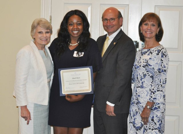 Hoover Service Club 2019 scholarships awards 11