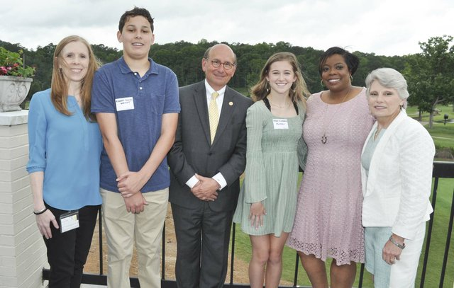 Hoover Service Club 2019 scholarships awards 18