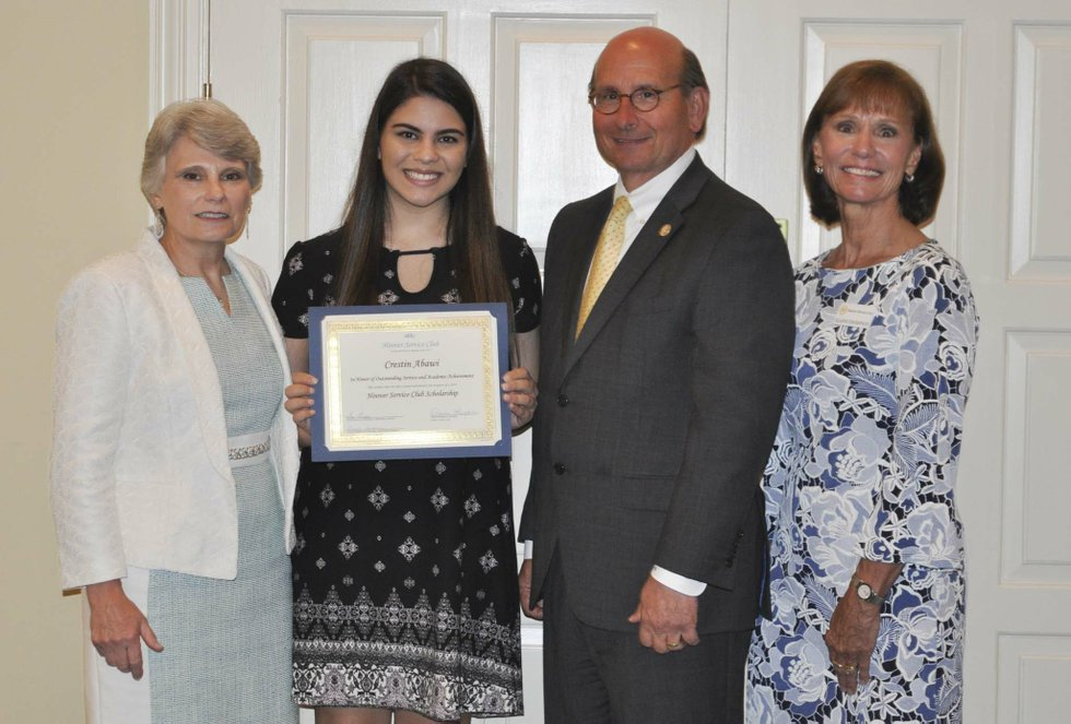 Hoover Service Club 2019 scholarships awards 13