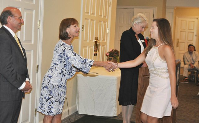Hoover Service Club 2019 scholarships awards 1