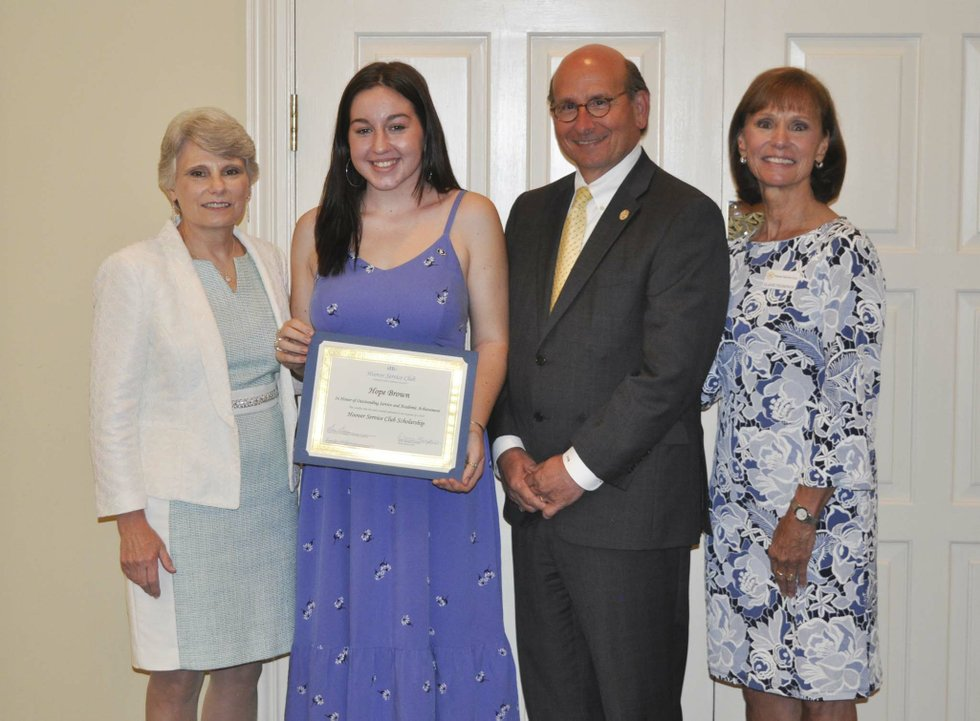 Hoover Service Club 2019 scholarships awards 14