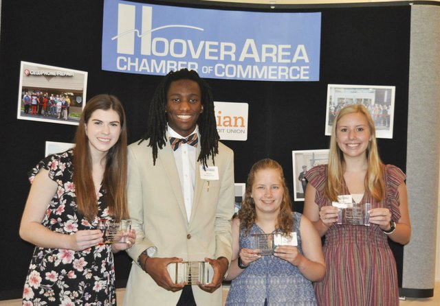 Hoover chamber 2019 scholarships 1