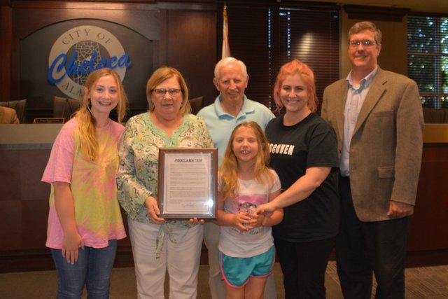 Richard Stephens' family
