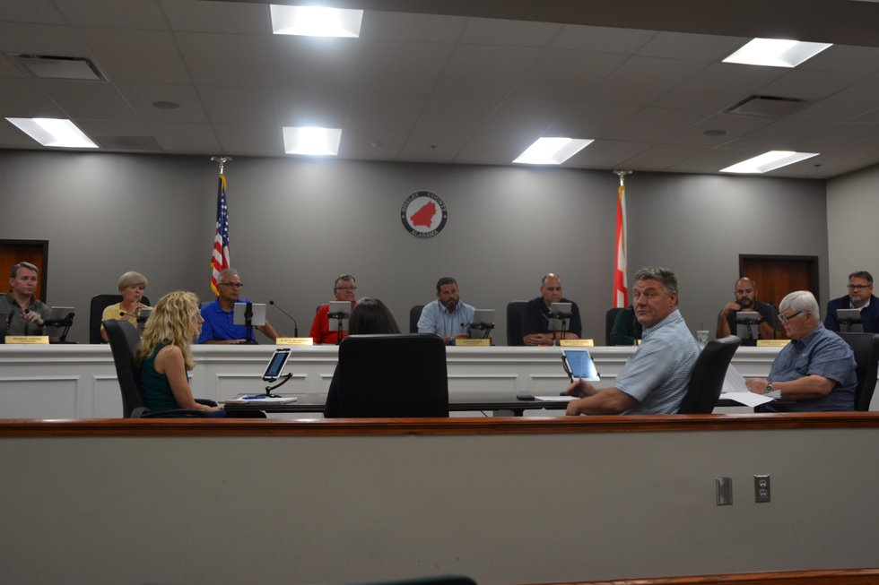 Shelby County Commission July 22