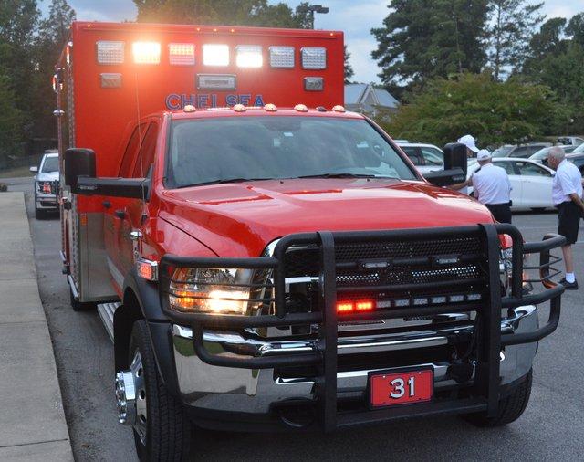 Chelsea Fire Department rescue truck