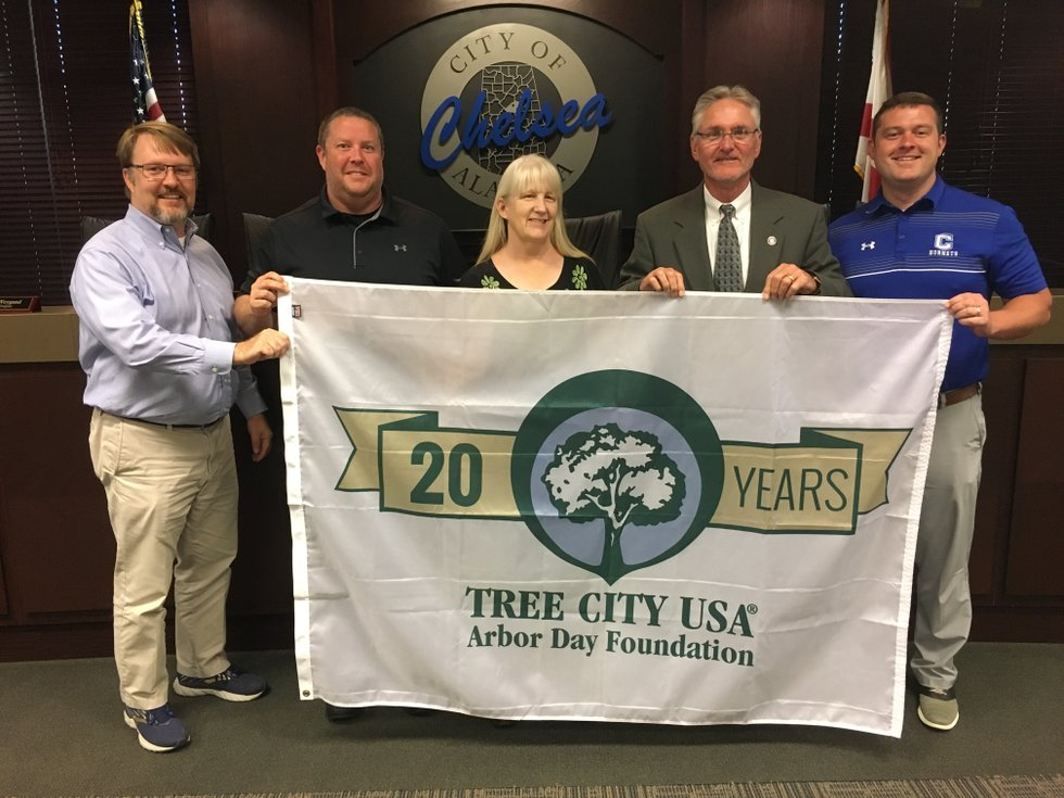 Chelsea named Tree City USA for 20th year