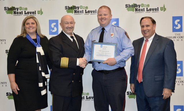 Billy Ricketts was named Chelsea Firefighter of the Year