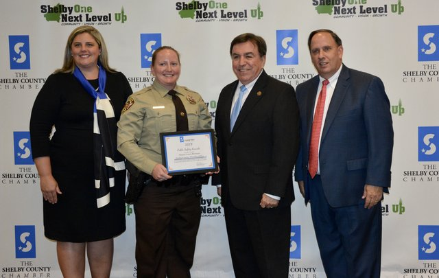 Laura Richman was named Shelby County Officer of the Year