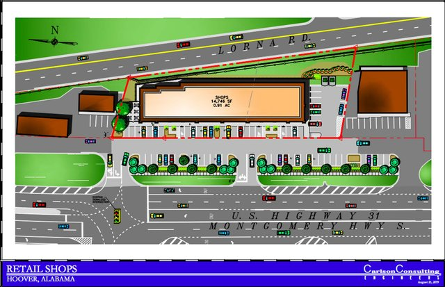 Orange Development U.S. 31 site plan 7-21-19