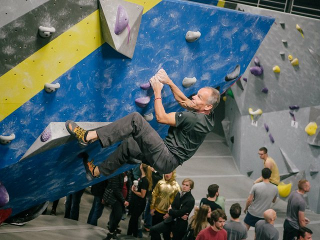 High Point Climbing Southern Grit indoor climbing competition