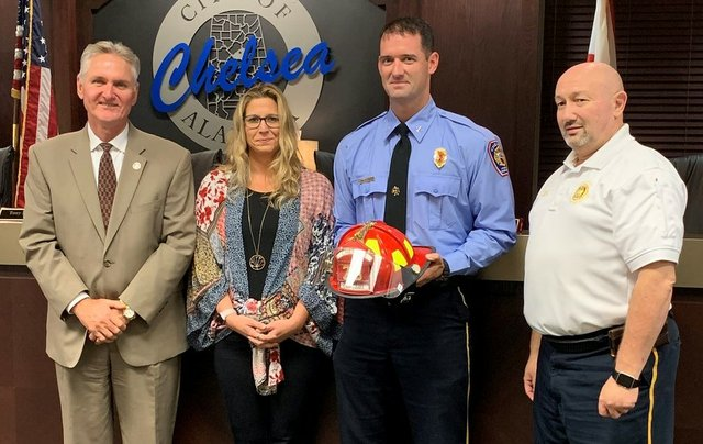 Tommy King has been promoted to Chief with the Chelsea Fire Department