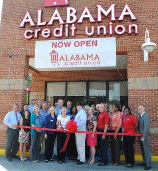 0912 Alabama Credit Union Ribbon Cutting