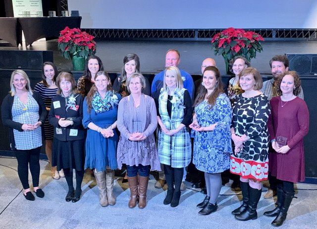 Elementary School nominees for Shelby County Teacher of the Year.