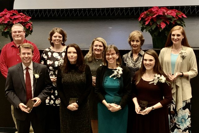 Shelby County High School Teacher of the Year nominees