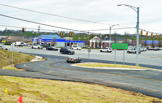 New intersection on 280