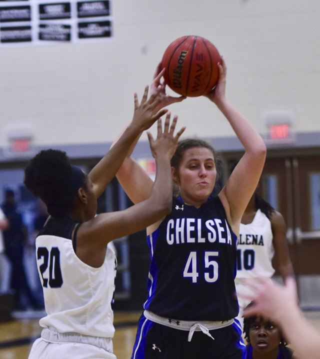 Chelsea at Helena basketball