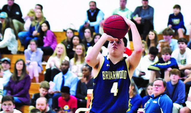 Briarwood at John Carroll basketball
