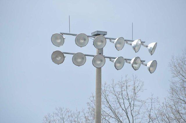 Hoover park lights 3-3-20