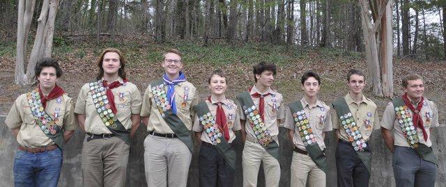 Inverness Eagle Scouts Feb 2020