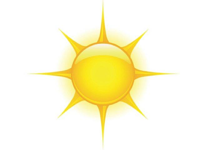 Weather sunny
