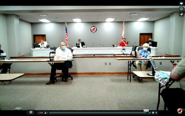 Shelby County Commission meeting 8/10