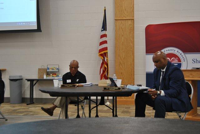 Shelby County School Board meeting 8.11.20