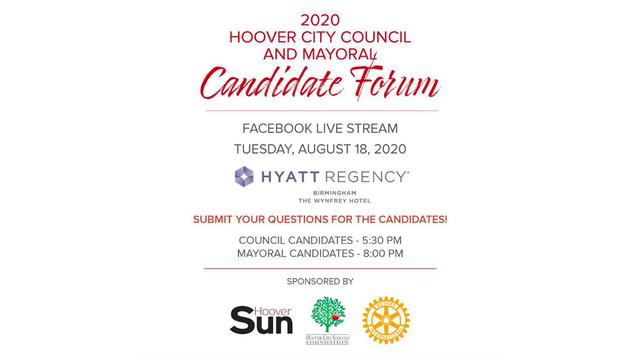 Hoover 2020 election forum logo